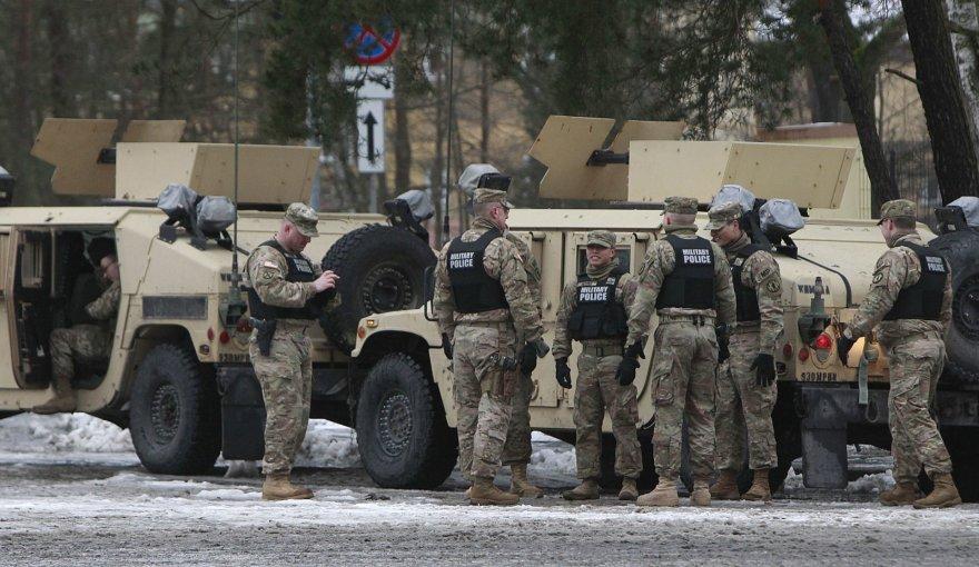Amerikiečių kariai Lenkijoje