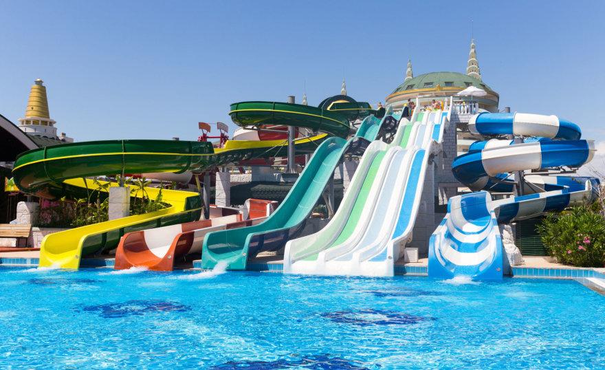 Vandens pramogos – vienas iš dalykų, kurių vaikai tikisi per atostogas Turkijoje