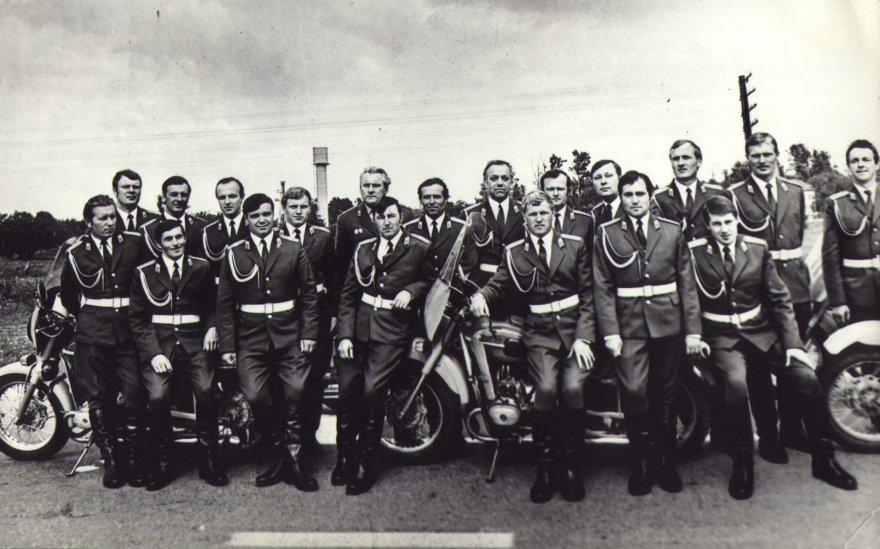 Lietuvos kelių policija 1991 m. sausio 13 d.