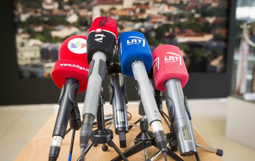 Remigijaus Šimašiaus spaudos konferencija