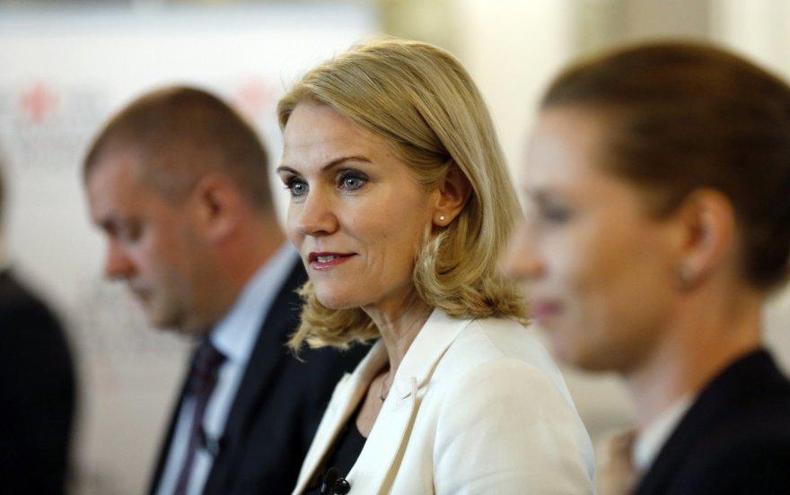 Danijos premjerė Helle Thorning-Schmidt