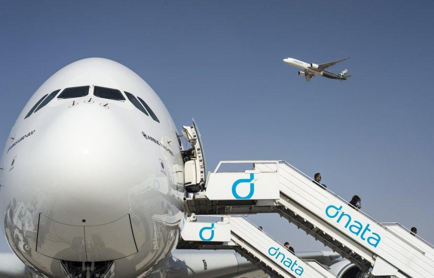 """""""Emirates Airlines"""" lėktuvas """"Airbus A380-800"""""""