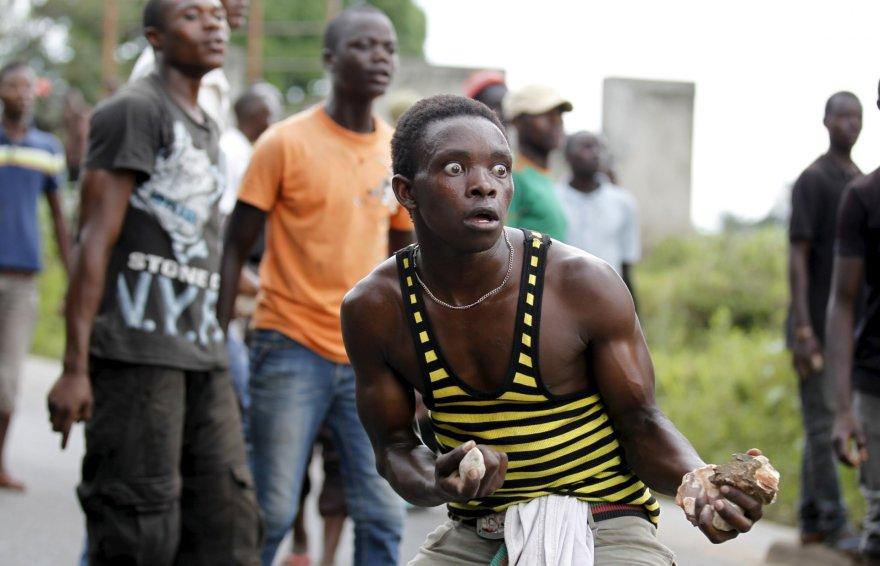 Protestai Burundyje nerimsta.