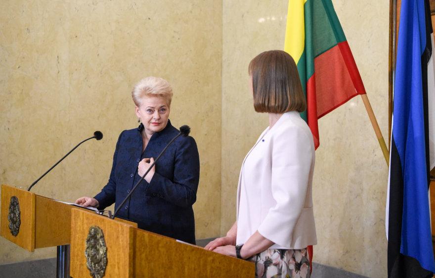 Dalia Grybauskaitė ir Kersti Kaljulaid