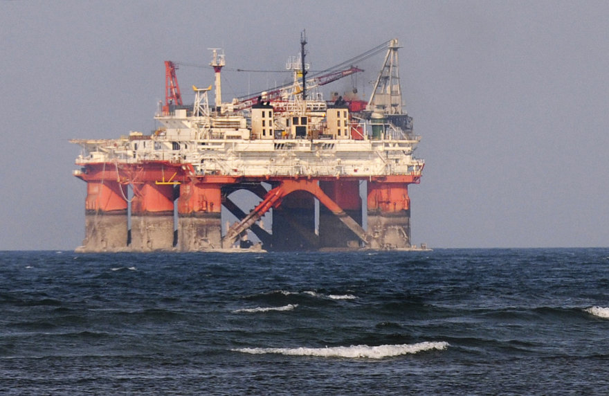 """Petroleos Mexicanos"" naftos platforma netoli Verakruzo"
