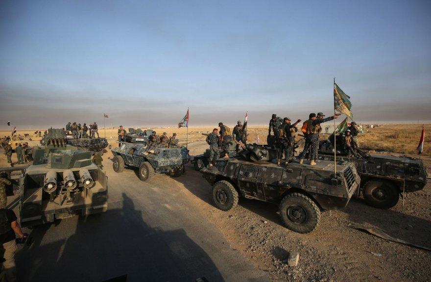 Irako pajėgos pradėjo IS kontroliuojamo Mosulo puolimą