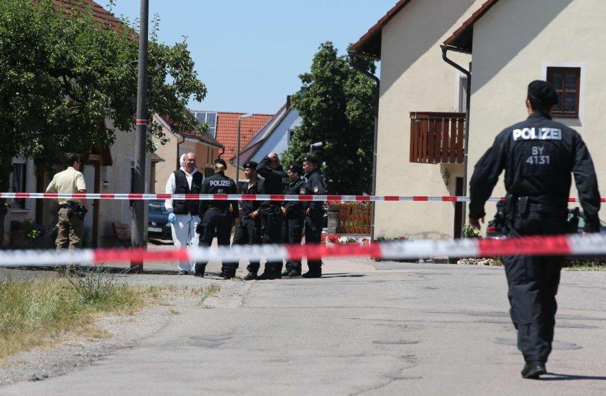 Šaulys Vokietijoje nušovė du žmones