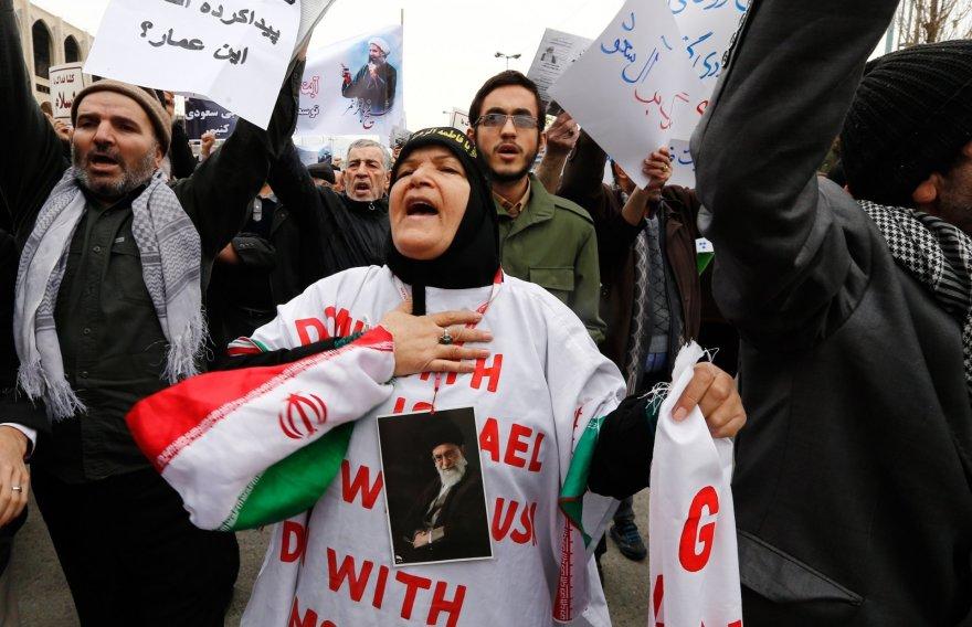 Protestai Irane