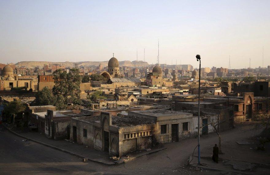 Kairo kapinėse gyvenantys egiptiečiai