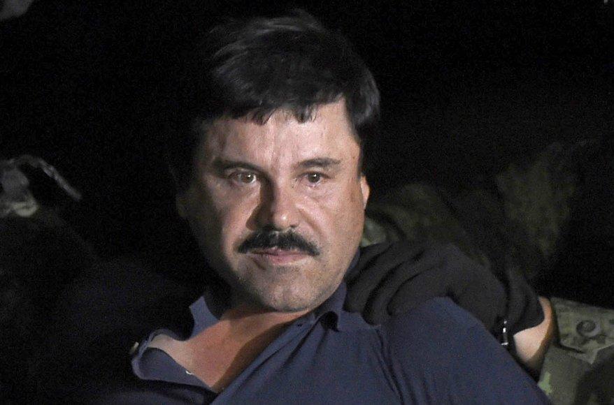 """AFP/""""Scanpix"""" nuotr./Joaquinas Guzmanas – """"El Chapo"""""""