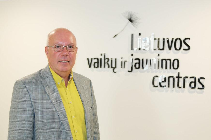 Lietuvos vaikų ir jaunimo centro vadovas Valdas Jankauskas
