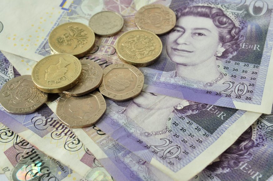 Didžiosios Britanijos svarai sterlingų