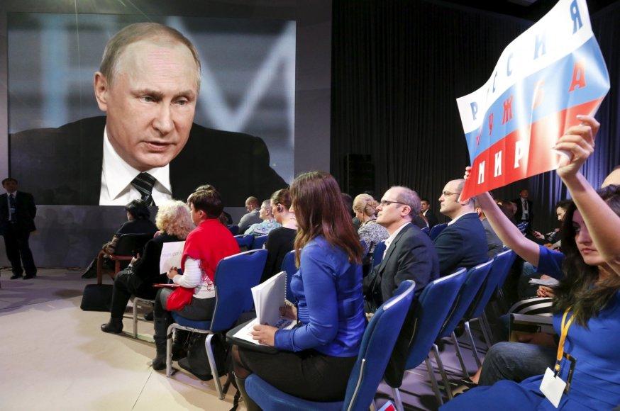Vladimiro Putino 11-oji kasmetinė spaudos konferencija