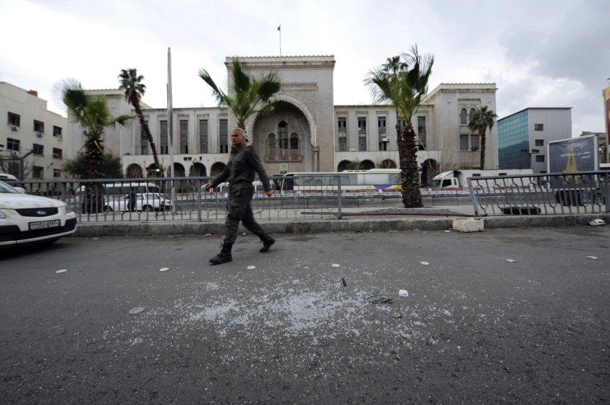 Sprogimas Damasko teismo rūmuose
