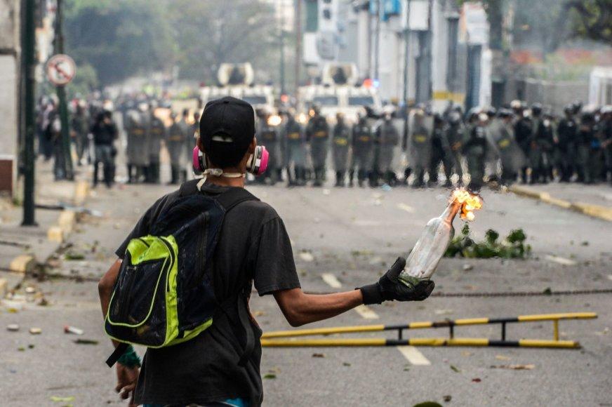 Protestas Venesueloje