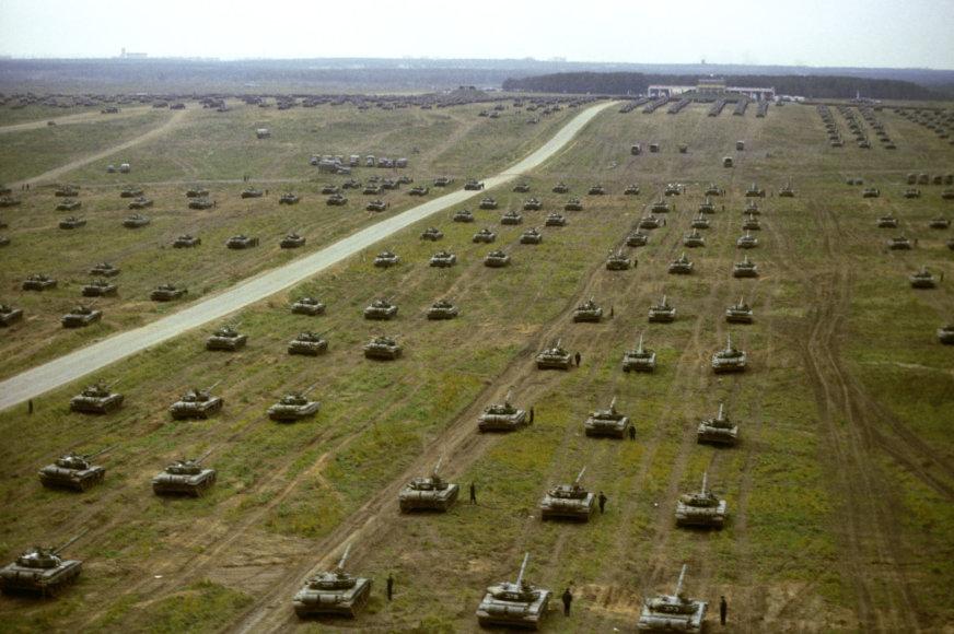 """Sovietų Sąjungos karinės pratybos """"Zapad 1981"""""""