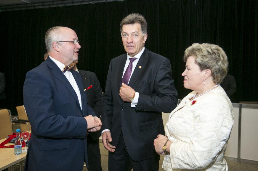 Juozas Olekas, Algirdas Butkevičius ir Irena Šiaulienė
