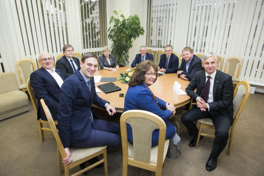 Valstiečiai-žalieji susitiko konsultacijų su socialdemokratais