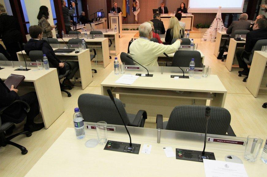 Šiaulių tarybos posėdis
