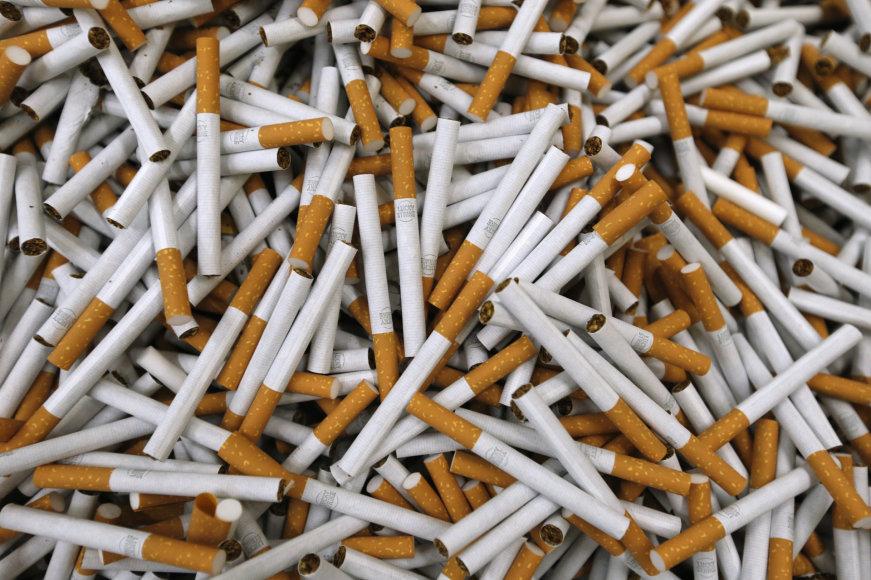 """Reuters""/""Scanpix"" nuotr./Cigaretės"