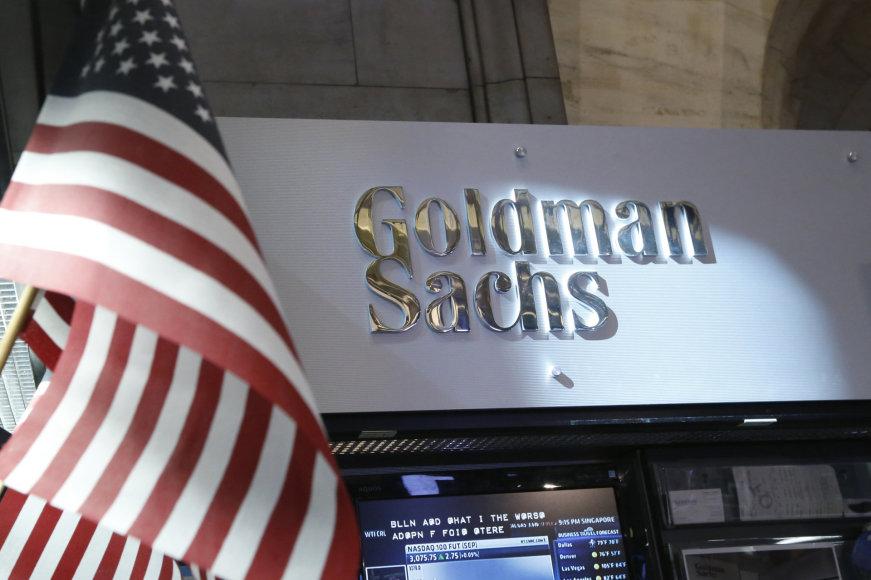 """""""Goldman Sachs"""" logotipas"""