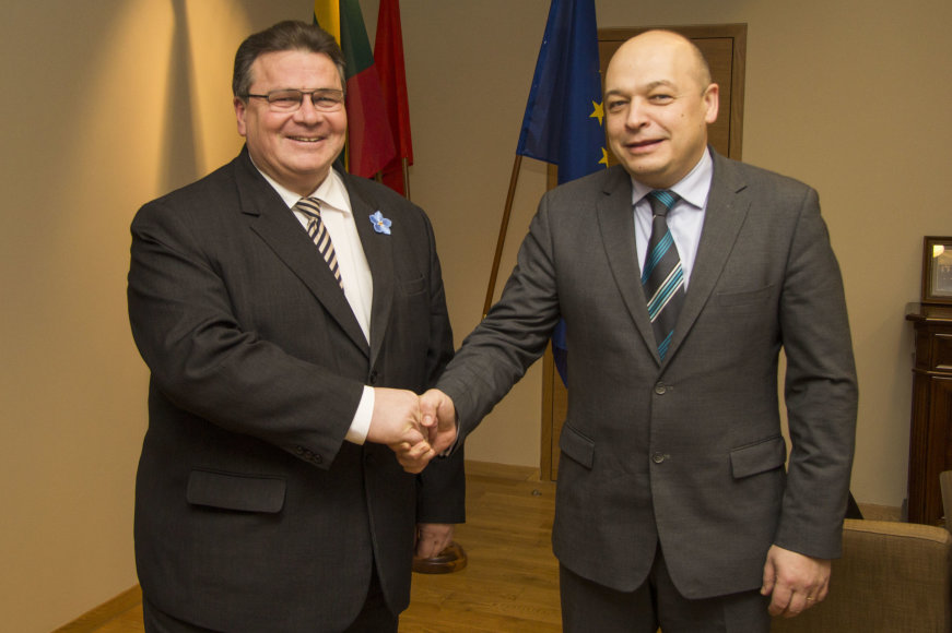 Linas Linkevičius ir Kęstutis Lančinskas, paskirtas naujuoju Europos Sąjungos patariamosios misijos Ukrainoje vadovu.