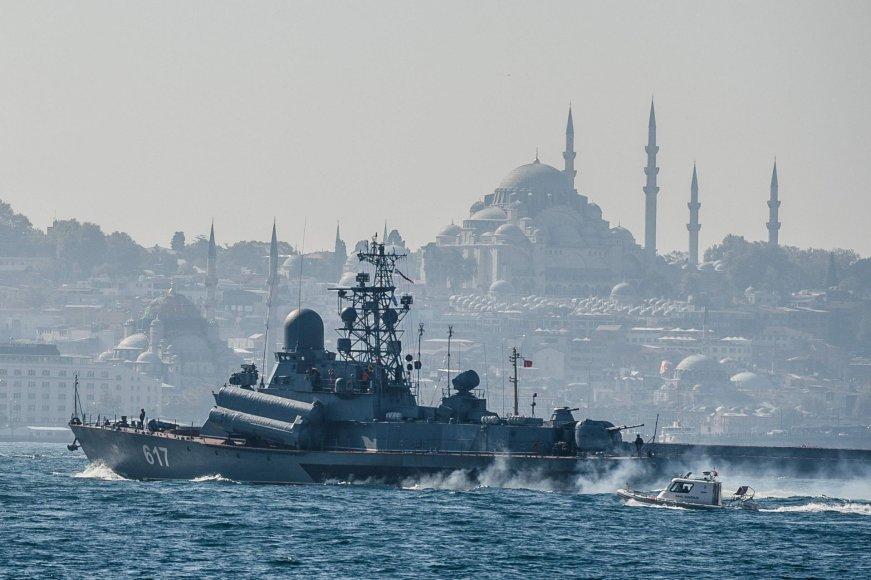 """Rusijos karo laivas """"Miraž"""""""
