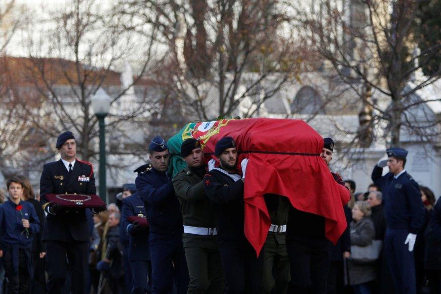 Mario Soareso laidotuvės