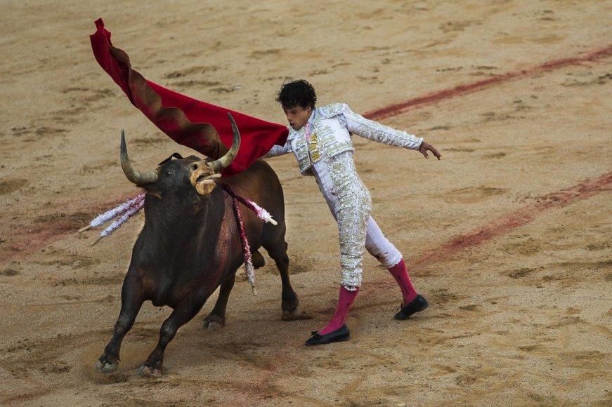 Tradicinė korida pasižyminti itin žiauriu elgesiu su gyvūnais