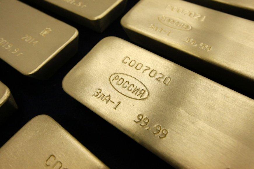 Aukso išgavimo gamykla Krasnojarske