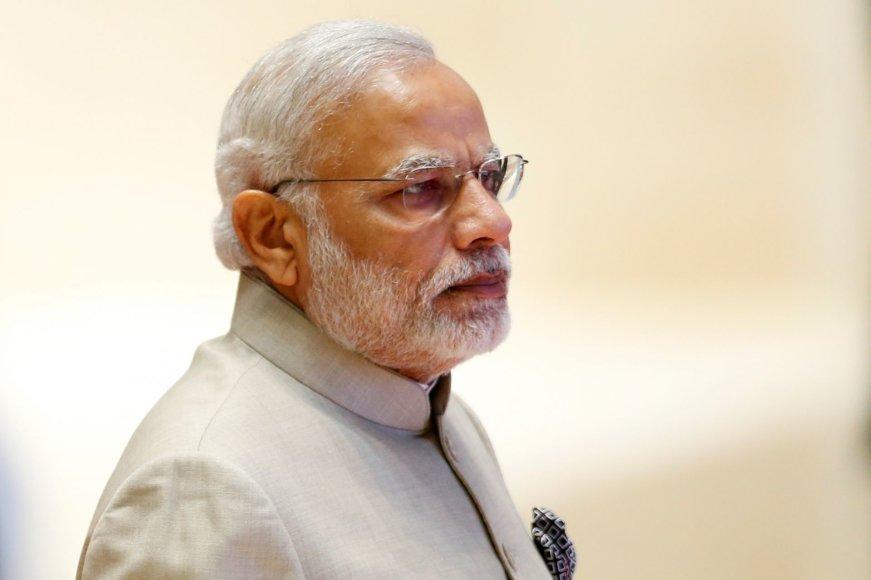 9. Narendra Modis – Indijos ministras pirmininkas
