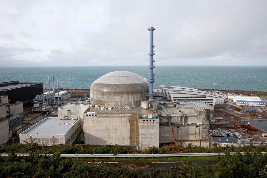 Atominė elektrinė Flamanvilyje Prancūzijoje