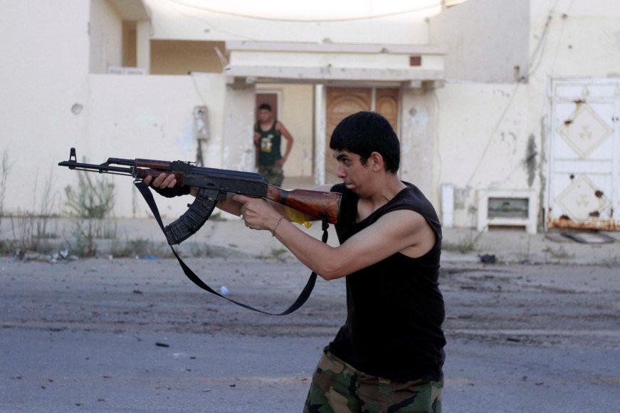 Iš Libijos nesitraukia chaosas