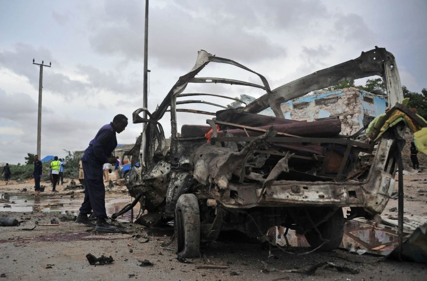 Teroristų išpuolis Somalyje