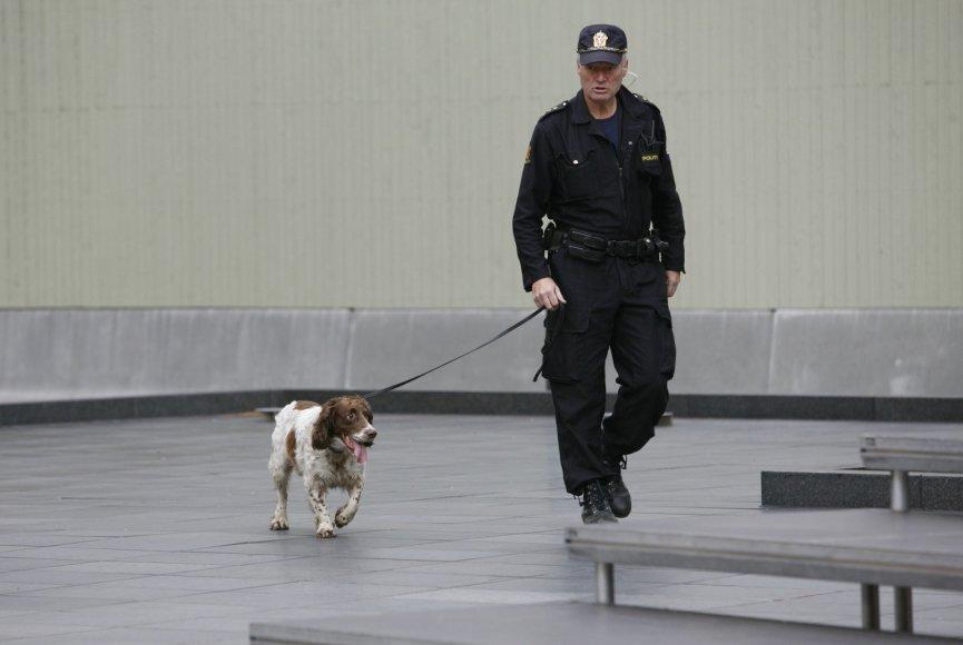 Norvegijos policininkas