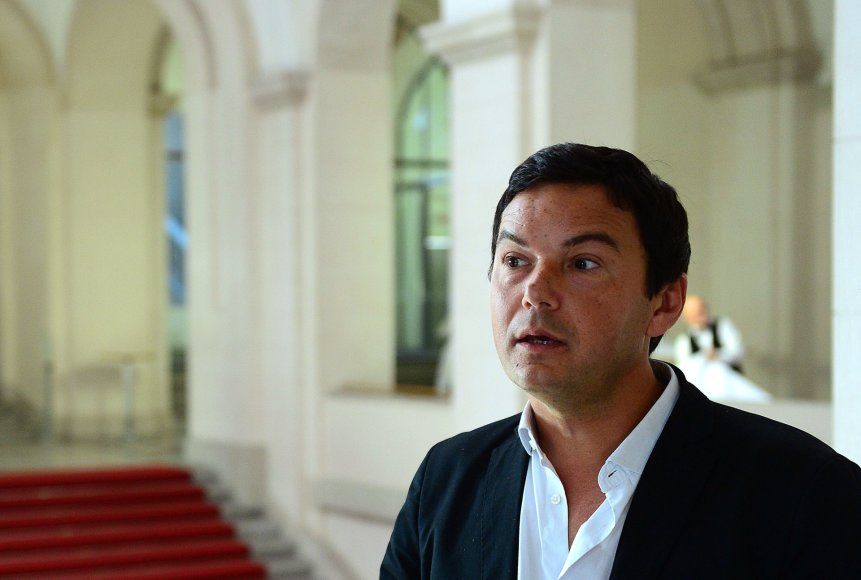Prancūzijos ekonomistas Thomas Piketty