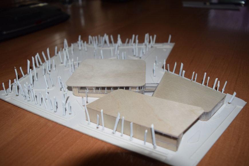 Gargždų sporto centro modelis