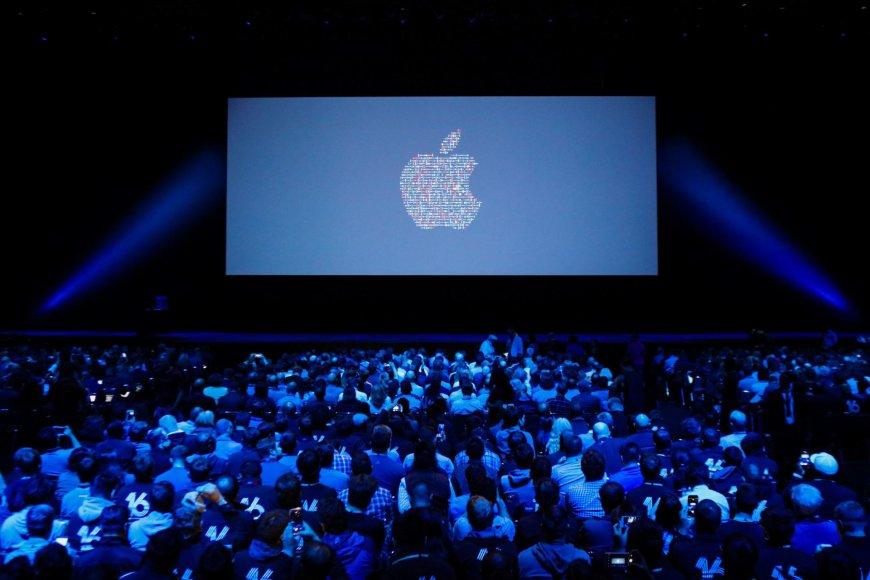 """""""Apple"""" WWDC konferencija San Fransiske"""