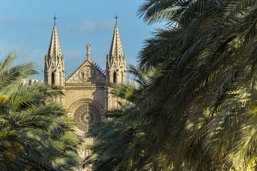123rf.com /Maljorkos Palmos katedra