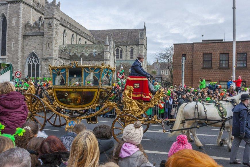 Švento Patrikos dienos paradas Dubline