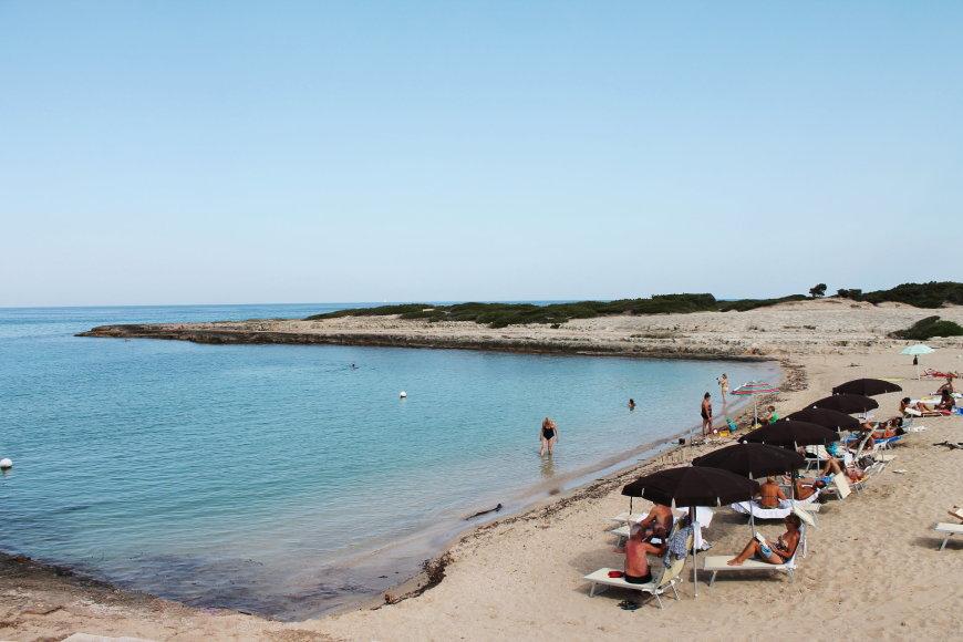 Apulijoje mėgsta atostogauti patys italai.
