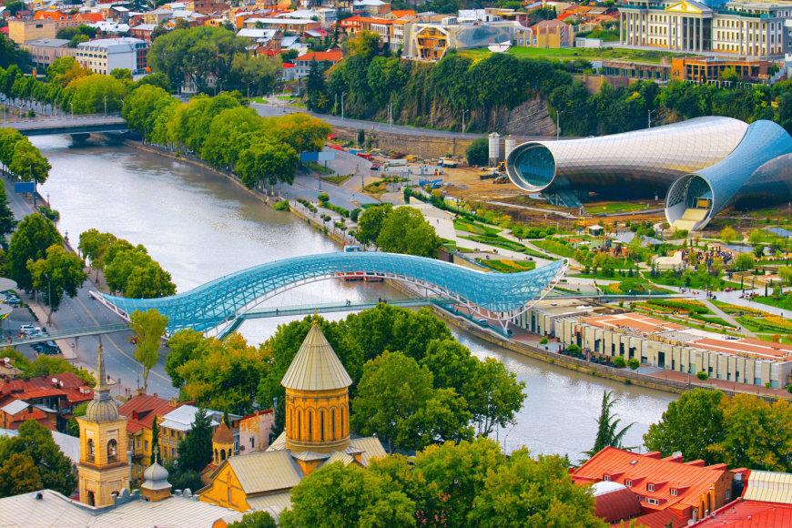 Tbilisio panorama