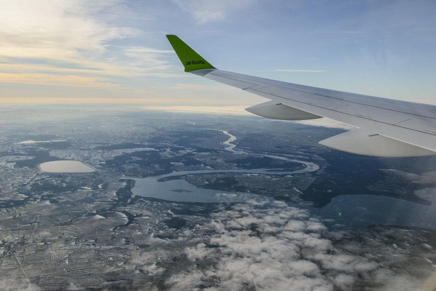 """airBaltic"" skrydis Vilnius-Paryžius"