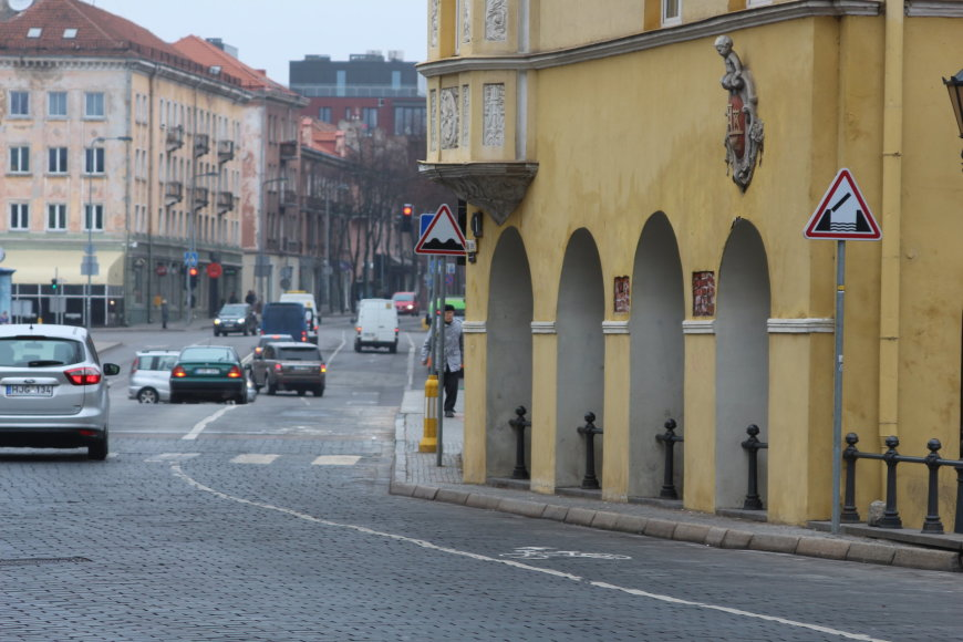 Klaipėda, Tiltų gatvė