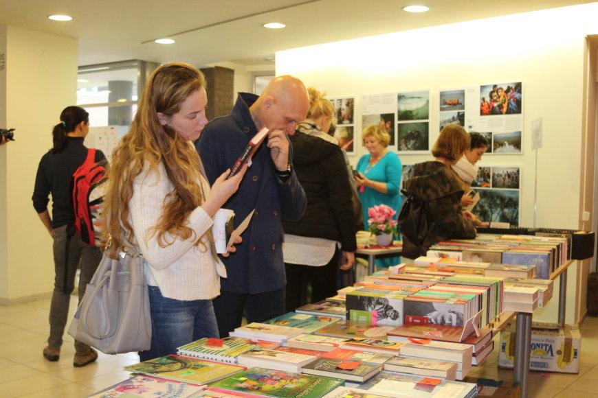 Klaipėdos I.Simonaitytės viešojoje bibliotekoje prasidėjo ketvirtoji uostamiesčio knygų mugė.