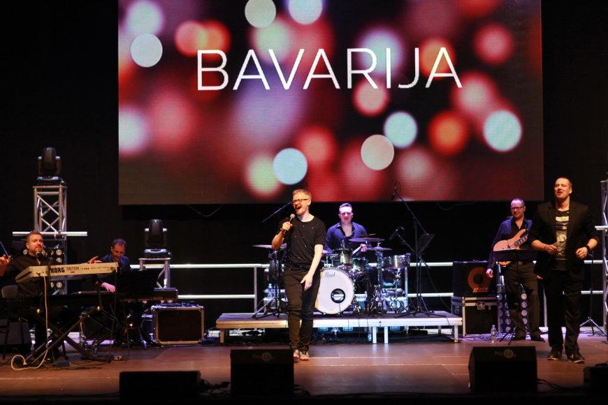 """Bavarijos"" koncerto akimirkos"