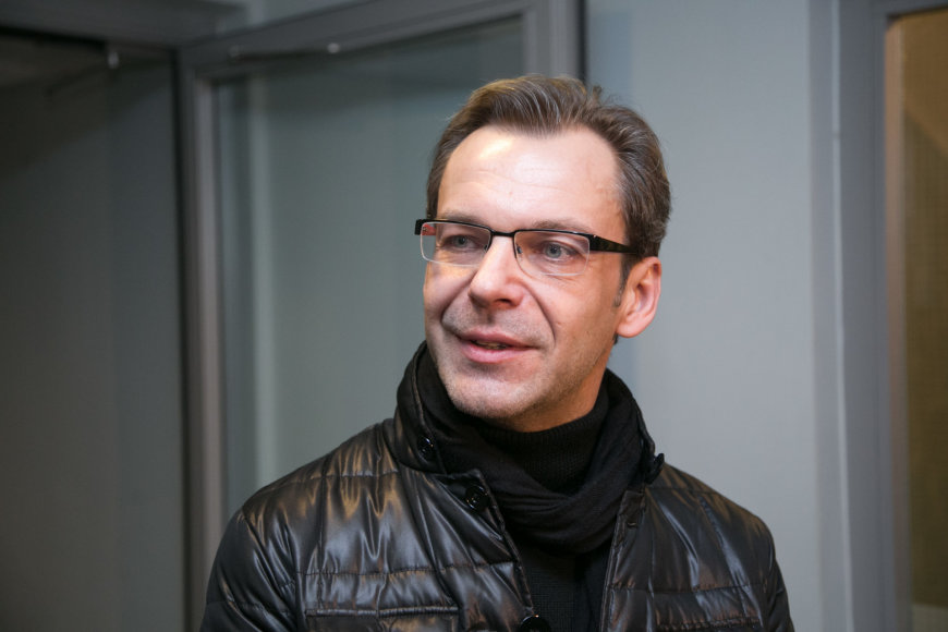 Juliaus Kalinsko/15min.lt nuotr./Aras Vėberis