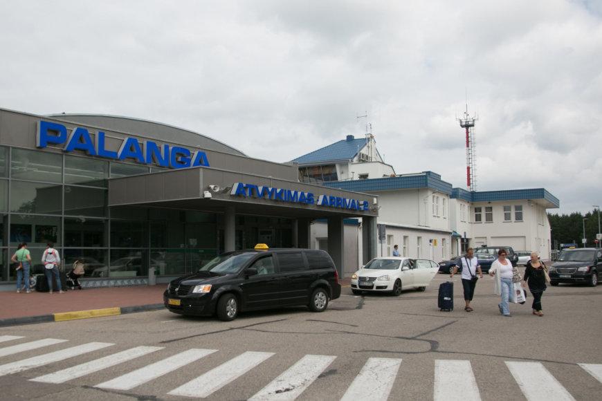 Juliaus Kalinsko / 15min nuotr./Palangos oro uostas