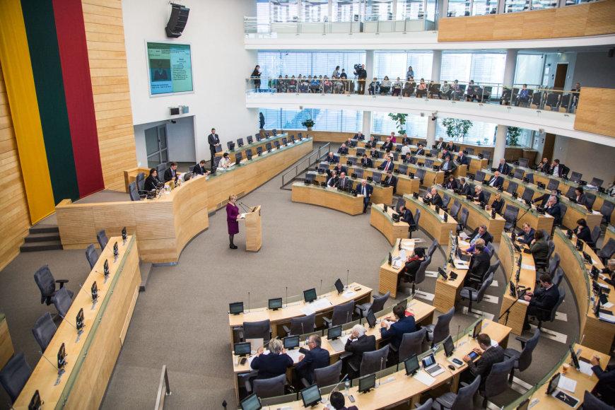 Seime pristatytas 2017 metų valstybės biudžeto įstatymo projektas