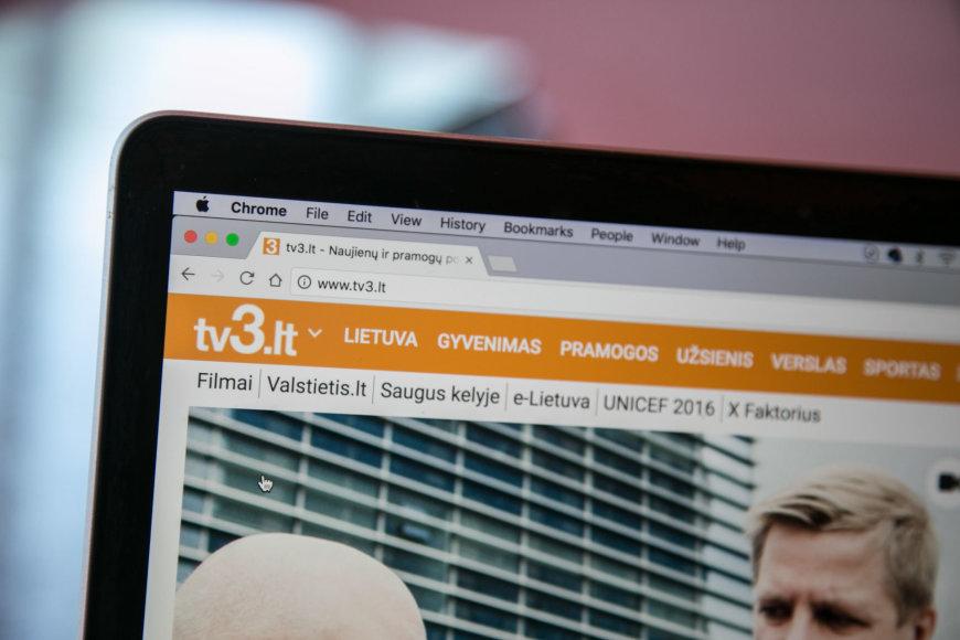 """Naujienų portalas """"Tv3"""""""